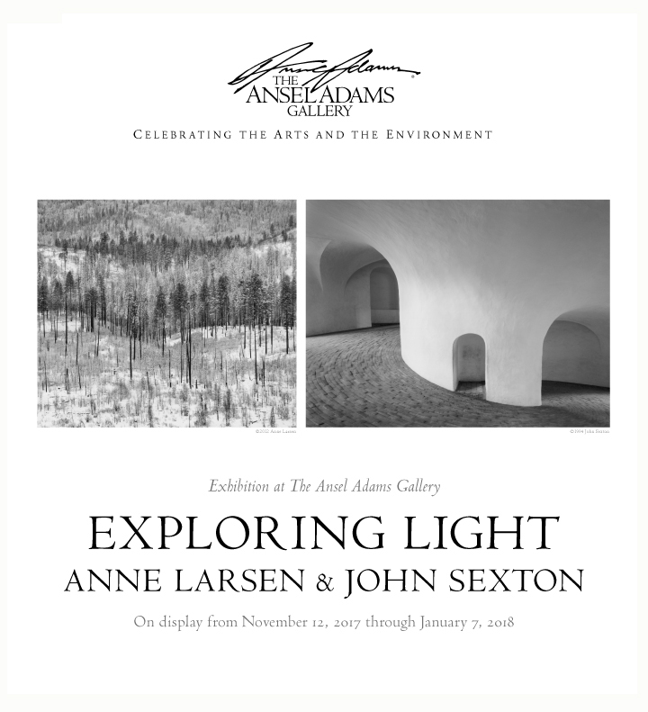 Sexton - Larsen Exploring Light Exhibition