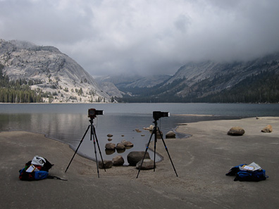 Sexton - Larsen Cameras at Tenaya Lake