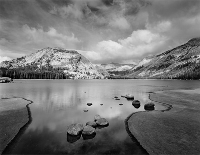Tenaya Lake, Clouds